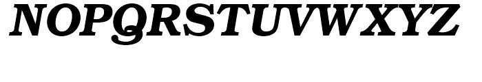ITC Bookman Demi Italic Font UPPERCASE
