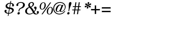 ITC Bookman Italic Font OTHER CHARS