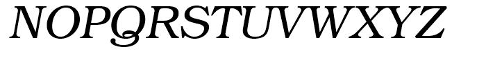 ITC Bookman Italic Font UPPERCASE