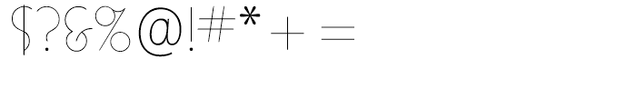 ITC Busorama Light Font OTHER CHARS