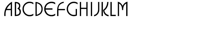 ITC Busorama Medium Font UPPERCASE