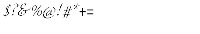 ITC Cali Regular Font OTHER CHARS