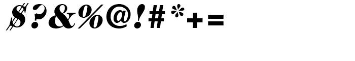 ITC Caslon No 224 Black Italic Font OTHER CHARS