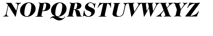 ITC Caslon No 224 Black Italic Font UPPERCASE