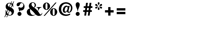 ITC Caslon No 224 Black Font OTHER CHARS
