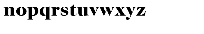ITC Caslon No 224 Black Font LOWERCASE