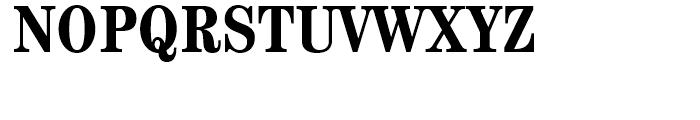 ITC Century Bold Condensed Font UPPERCASE