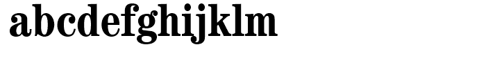 ITC Century Bold Condensed Font LOWERCASE