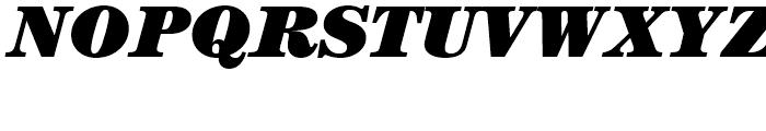ITC Century Ultra Italic Font UPPERCASE