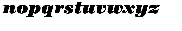 ITC Century Ultra Italic Font LOWERCASE
