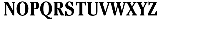 ITC Cheltenham Condensed Bold Font UPPERCASE