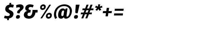 ITC Chino Bold Italic Font OTHER CHARS