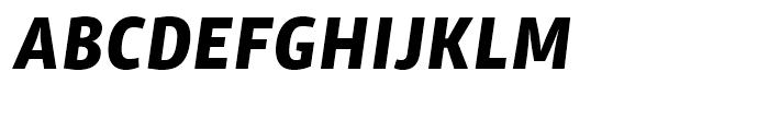 ITC Chino Bold Italic Font UPPERCASE
