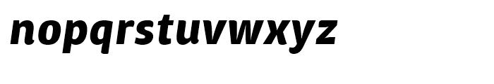 ITC Chino Bold Italic Font LOWERCASE