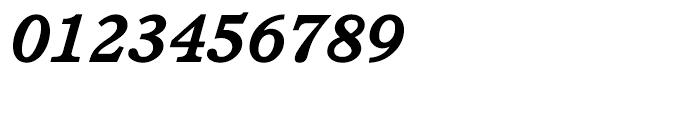 ITC Cushing Bold Italic Font OTHER CHARS