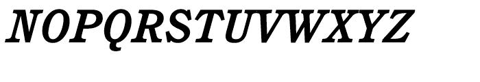 ITC Cushing Bold Italic Font UPPERCASE