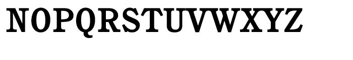 ITC Cushing Bold Font UPPERCASE