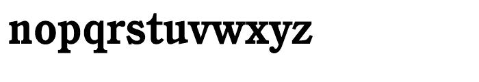 ITC Cushing Bold Font LOWERCASE