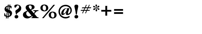 ITC Garamond Bold Font OTHER CHARS