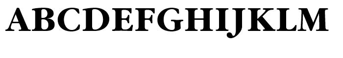 ITC Garamond Bold Font UPPERCASE