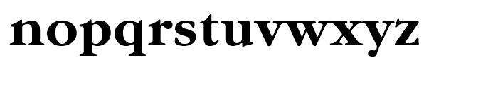 ITC Garamond Bold Font LOWERCASE