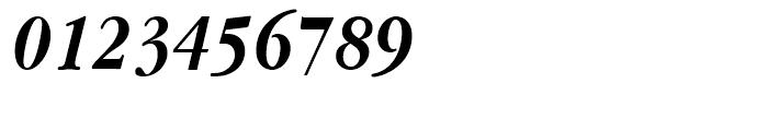 ITC Garamond Narrow Bold Italic Font OTHER CHARS