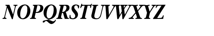 ITC Garamond Narrow Bold Italic Font UPPERCASE