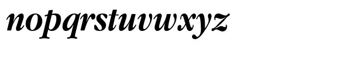 ITC Garamond Narrow Bold Italic Font LOWERCASE