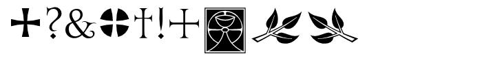 ITC Golden Cockerel Initials  Ornaments Font OTHER CHARS