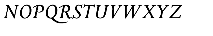 ITC Golden Cockerel Italic Font UPPERCASE