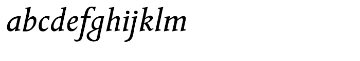 ITC Golden Cockerel Italic Font LOWERCASE