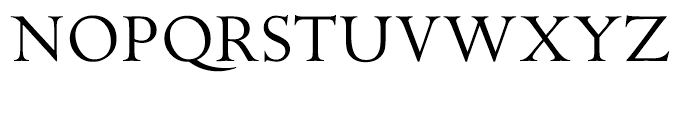 ITC Golden Cockerel Titling Font UPPERCASE