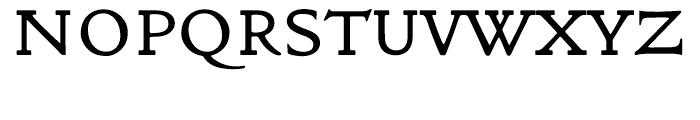 ITC Golden Type Original Font UPPERCASE