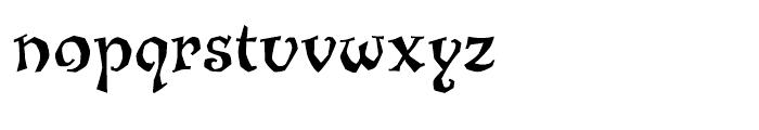 ITC Jiggery Pokery Regular Font LOWERCASE
