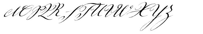 ITC Johann Sparkling Regular Font UPPERCASE