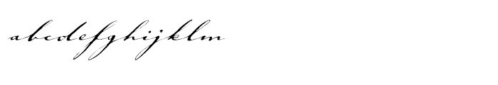 ITC Johann Sparkling Regular Font LOWERCASE
