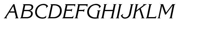 ITC Korinna Italic Font UPPERCASE