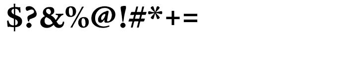 ITC Legacy Serif Bold Font OTHER CHARS