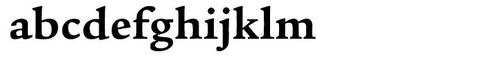 ITC Legacy Serif Bold Font LOWERCASE