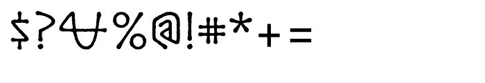 ITC Lintball Regular Font OTHER CHARS