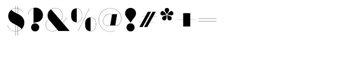 ITC Manhattan Regular Font OTHER CHARS