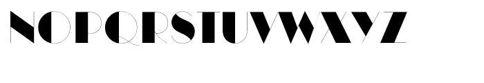 ITC Manhattan Regular Font UPPERCASE