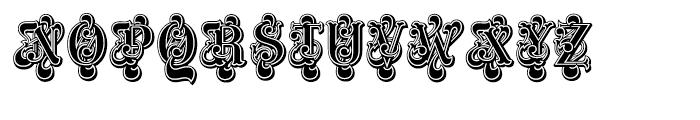 ITC Masquerade Regular Font UPPERCASE