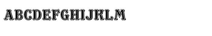 ITC Masquerade Regular Font LOWERCASE