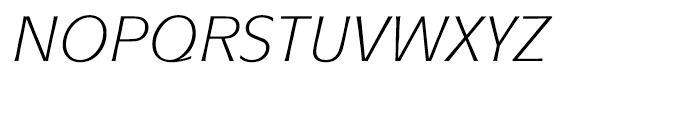ITC Mixage Book Italic Font UPPERCASE