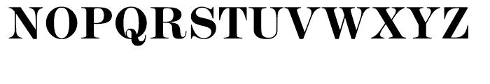 ITC Modern No 216 Bold Font UPPERCASE