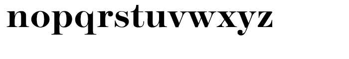 ITC Modern No 216 Bold Font LOWERCASE