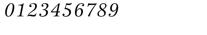 ITC New Esprit Italic Font OTHER CHARS