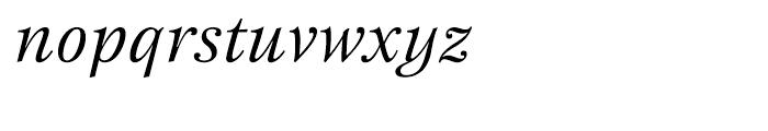 ITC New Esprit Italic Font LOWERCASE