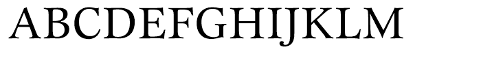 ITC New Esprit Regular Font UPPERCASE